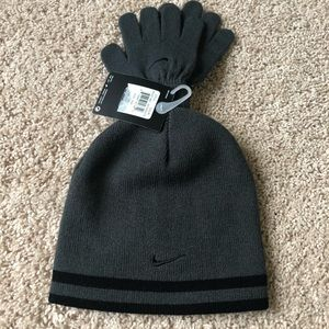 🆕Nike hat and glove set